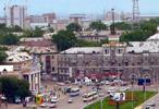 Площадь Октябряг. Барнаул